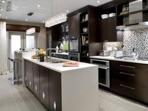 Kitchen-Cabinet-Slider-Contemporary-Island